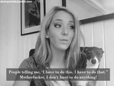 Love Jenna Marbles!!!!!! This Bitch is Funny as fuck!