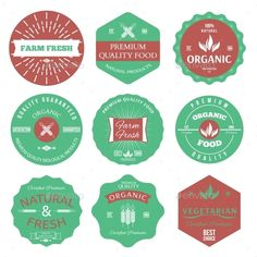 Labels and Badges #jpg #image #restaurant #gmo • Available here → https://graphicriver.net/item/labels-and-badges/9981097?ref=pxcr