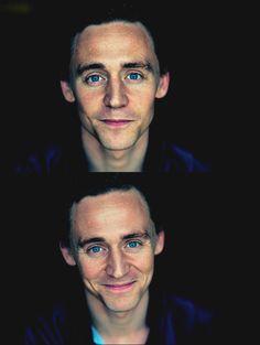 Tom Hiddleston <3-those eyes that smile---SWOON!