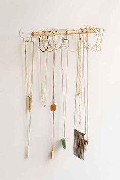 Minimal Hanging Jewelry Stand