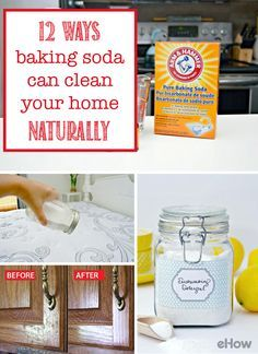 Baking soda can literally do it all when comes to cleaning your home! Click through to see ALL the easy ways you can use baking soda to get the cleanest house ever (on the cheap) naturally! http://www.ehow.com/how_12343618_12-ways-baking-soda-can-clean-home-naturally.html?utm_source=pinterest.com&utm_medium=referral&utm_content=curated&utm_campaign=fanpage
