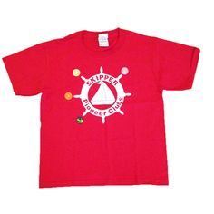 Skipper T-Shirt - Iron-on awards are displayed on a special Skipper T-shirt.