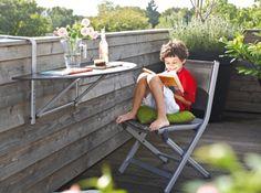 Chaise pliante Basic Plus #Kettler - jardin-en-terrasse.com