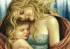 Los abrazos que nos dan nuestros hijos son regalos para el corazón.