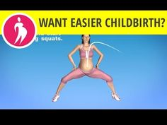 Pregnancy Exercise: Squats- How to Squat During Pregnancy, Squat for Birth - YouTube