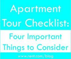 4 Important Things to Consider When Choosing An Apartment - Girly Schtuff | Girly Schtuff