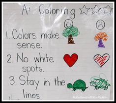 RainbowsWithinReach: Anchor Charts: Organize your Collection