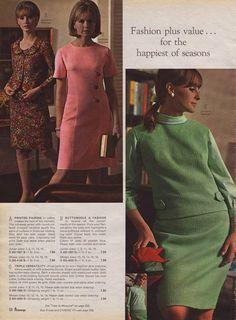 Vintage Fashion Guild  Fashion Timeline  1960 To 1970