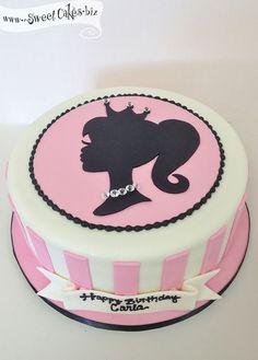 Barbie Girl Birthday Cake #birthdaycake #birthdaypartykid #barbiebirthday