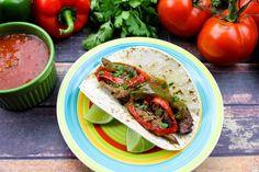 Slow Cooker Fajitas #Slow-cooker #fajita #justapinchrecipes Slow Cooker Fajitas, Crock Pot Slow Cooker, Slow Cooker Recipes, Crockpot Recipes, Chicken Recipes, Cooking Recipes, Slow Cooking, Mexican Food Recipes, Ethnic Recipes