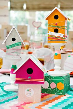 """About To Hatch"" Modern Bird Themed Baby Shower {Operation Shower Event}"