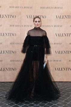 Olivia Palermo - Valentino 'Mirabilia Romae' Haute Couture Fall 2015 Front Row - July 9, 2015