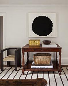Richard Serra in a Mark Cunningham apartment