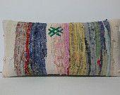 DECORATIVE PILLOW Decorative Throw Pillow Kilim Pillow Cover Turkish Cushion Lumbar pillow Case bohemian sofa southwestern body boho natural