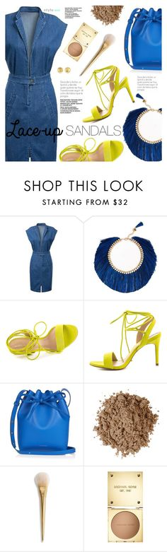 """Strapped In: Lace-Up Sandals"" by black-fashion83 ❤ liked on Polyvore featuring Rosantica, ALDO, Mansur Gavriel, Moon Juice, Michael Kors, polyvoreeditorial, polyvorecontest, polyvoreset and stylemoi"