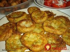 Another classic meze for ouzo or beer and for all seasons! Ingredients (for 30 fritters): 6 medium potatoes 1 large onion, minced . Other Recipes, New Recipes, Cooking Recipes, Favorite Recipes, Meals Without Meat, Potato Fritters, Low Sodium Recipes, Greek Cooking, Greek Recipes