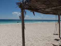Tulum, Mayan Riviera, Mexico (Beach near Happy Geck-Eco Hostel)