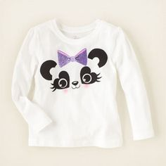 Check out The Children's Place for a great selection of kids clothes, baby clothes & more. Shop at the PLACE where big fashion meets little prices! Big Fashion, Baby Girl Fashion, Panda Outfit, Girls Crop Tops, Children's Place, Kids And Parenting, Kids Outfits, Graphic Tees, Easter