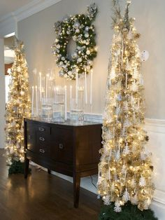 - Step Into These Celebrity Home Makeovers for the Holidays on HGTV. Former NFL running back Tiki Barber opens up his home for a seasonal makeover Christmas Tree, Holiday Decor, Home Decor, Homemade Home Decor, Xmas Tree, Xmas Trees, Interior Design, Decoration Home, Home Interiors