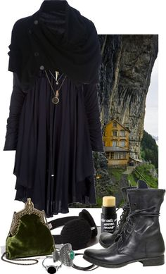 """""""Meet me in the valley"""" by occultette on Polyvore:"""