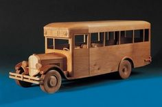 bus de madera
