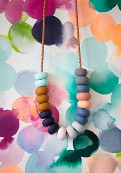 NEL 18 Bead Necklace | Emily Green
