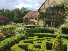 Gardens at Long Barn in the Weald. Photography by Judith Sharpe