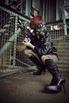 Dieselpunk girl