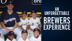 Have a young one interested in baseball? Sign him or her up for the #Brewers Baseball Academy! Click for details.