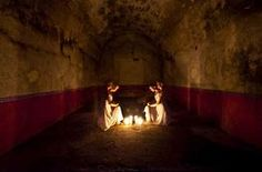 """Hacienda Liminal Rites series, by Aloyse Blair and Janelle Pietrzak Conceptual Fashion, National Art, Dark Places, Long Exposure, Light Painting, Art Club, Art Images, Bing Images, Fine Art Photography"