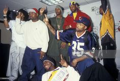 Rappers Redman, Method Man and members of Wu Tang Clan attend 14th Annual MTV Video Music Awards on September 4, 1997 at Radio City Music Hall in New York City.