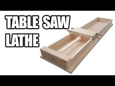 Table Saws How to Build a Table Saw Lathe (Tenoner / Dowel Maker) - Woodworking Books, Router Woodworking, Woodworking Projects, Wood Projects, Circular Saw Reviews, Best Circular Saw, Table Saw Fence, Table Saw Jigs, Espalier