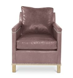 Leather Chair by Maine Cottage | Henry Chair #mainecottage