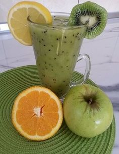 Early Morning Liver Detox Smoothie - Green Smoothie for health, weight loss, and energy. OR, you can just mix SevenPoint2 Greens for the same benefits! Cleanest greens available on the market! - http://saksa.sevenpoint2.com/products.html