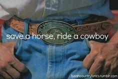 #bigandrich #saveahorserideacowboy #lyrics #country