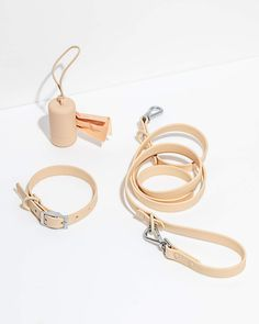 Set yourself up right with our popular on-the-go essentials. The Walk Kit comes with our signature dog Collar paired with the color-matched Leash and Poop Bag Carrier. Also available as a Harness Walk Kit. Collar Walk Kit, Tan / S / Small Dog Collars & Leashes, Dog Leash, Giant Dogs, Medium Dogs, Collar And Leash, Wild Ones, Dog Harness, Dog Supplies, Dog Walking