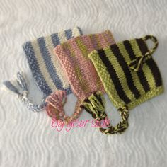 Striped Baby Pixie Bonnet Baby Bonnet Baby Hat by @ByYourSide2009 #SYLink