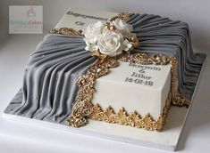 Engagement cake, still classy enough for any special occasion! Engagement cake, still classy enough for any special occasion!