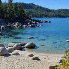 Secret Cove Lake Tahoe, Kings Beach Lake Tahoe, Lake Beach, South Lake Tahoe, Beach Cove, Lakeside Cabin, Lake View, Travel Usa, Places To Visit