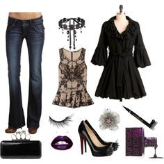 Hard & Fancy, created by leah-mutter on Polyvore