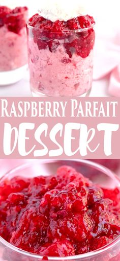 Low Carb Recipes To The Prism Weight Reduction Program This Is A Cool Creamy Dessert Made With Raspberry Flavored Jello, Frozen Raspberries And Cool Whip Parfait Desserts, Köstliche Desserts, Holiday Desserts, Jello Parfait, Plated Desserts, Cool Whip Pies, Cool Whip Desserts, Delicious Desserts, Yummy Food