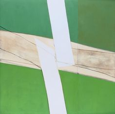 Sandra Blow Title Green and White Date 1969 Medium Acrylic paint, ash and charcoal on canvas Dimensions Unconfirmed: 3048 x 3048 mm Collection Tate Sandra Blow 'Green and White', 1969 © The estate of Sandra Blow Green School, Action Painting, Branding, Abstract Painters, Abstract Art, Art Uk, Your Paintings, Contemporary Artists, Modern Art