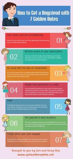 7 Golden Rules To Get A Boyfriend