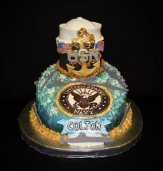 U.S Navy Cake