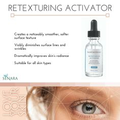 LOVE how smooth skin gets with this product! SkinCeuticals Retexturing Activator, FTW!