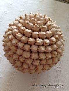 Casa Eglys: DIY -Esferas de Café y otras semillas