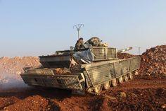 YPG T-72 in Afrin Syria [3629x2419] (x-post from /r/SyrianCivilWar)