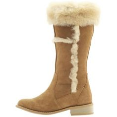 Emu Caloundra Knee High Boots Womens Tan Sheepskin - Was $249.00 - SAVE $149.00. BUY Now - ONLY $99.97.