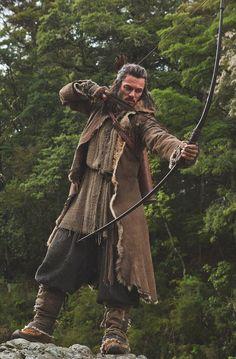 Bard the Bowman (Luke Evans), The Hobbit:The Desolation of Smaug. By moustacheluke.