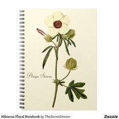 Hibiscus Floral Notebook